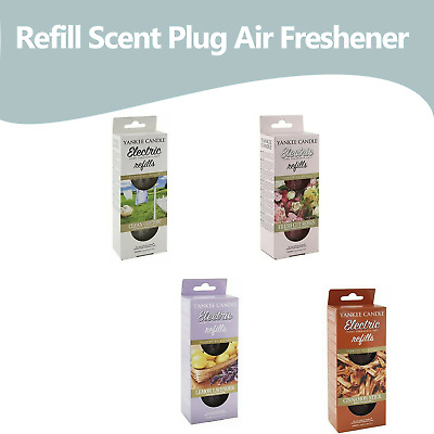 Yankee Candle Electric Scent PlugIn Air Freshener Refill Fragrance Oil SET OF 2 • 7.99£