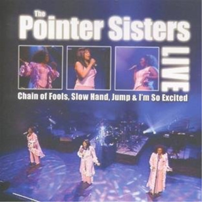 Pointer Sisters, The-Live CD NEW • 4.76£