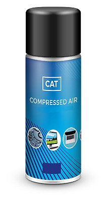 1 X Compressed Air Duster Gas Spray / Cleaner, MAX POWER 9 Bar - Can 200ml • 5.25£