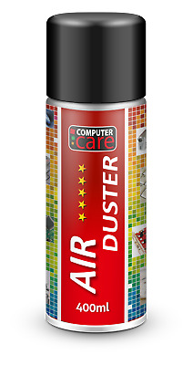 400ml Compressed Air Duster Gas Spray Cleaner Keyboard Mouse Printer • 5.98£