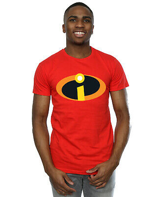 Disney Men's The Incredibles Costume Logo T-Shirt • 16.99£