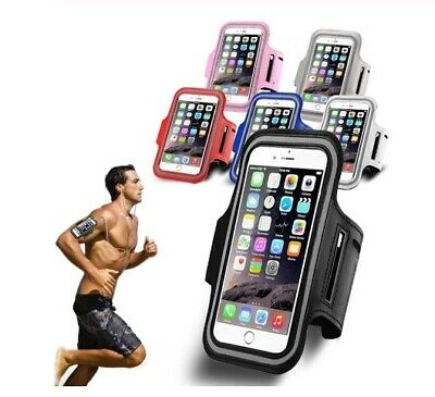 Sports Running Jogging Gym Armband Case Cover Holder IPhone Samsung Huwei HTC UK • 2.98£