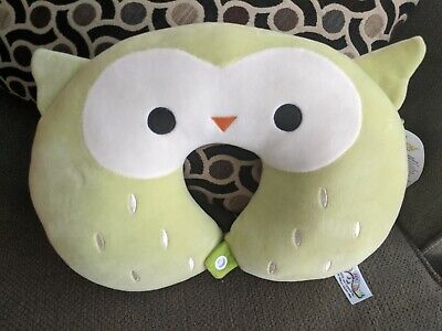 $ CDN35 • Buy Squishmallows Owen Lime Owl Neck Pillow NEVER SEEN Exclusive VHTF 2020 LIMITED