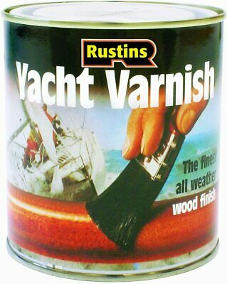 Rustins  Yacht Varnish For Wood Timber Door Window Frame Cladding • 13.99£
