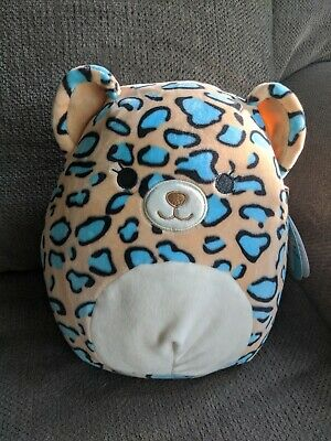 $ CDN30 • Buy Squishmallows 8  Inch Liv Leopard Cheetah Blue Spotted NEW 2020 HTF Squishmallow
