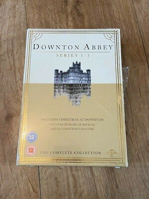 Downton Abbey - The Complete Series 1-3 Collection - NEW SEALED DVD SET Downtown • 11.99£