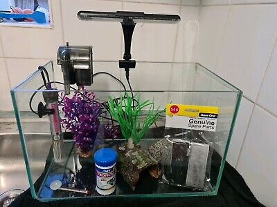 AU82 • Buy 20L Fish Tank & Accessories - Great Condition