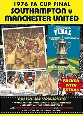 1976 FA Cup Final - Southampton Vs Manchester United  - NEW/SEALED • 36.95£