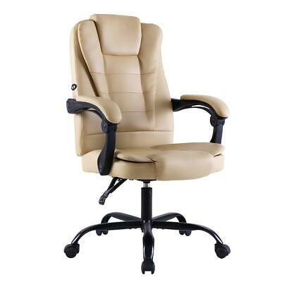 AU140.58 • Buy Artiss Massage Office Chair Gaming Chair Recliner Computer Chairs Khaki
