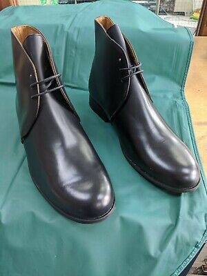 £29.99 • Buy George Boots - Military - Black Leather - No Spurs Housing - New: Up To Size 13