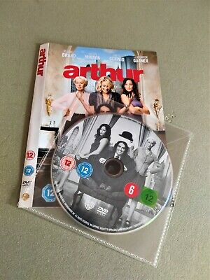 Arthur DVD Disc & Artwork Russell Brand, Helen Mirren • 1.39£