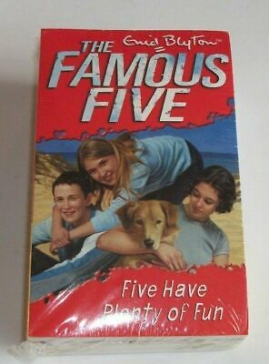 Enid Blyton The Famous Five Book Set Plenty Of Fun Secret Trail Brand New Sealed • 9.99£