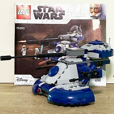 AU39.99 • Buy Star Wars LEGO® Armored Assault Tank (ATT) The Clone Wars Set 75283 NO MINIFIGS