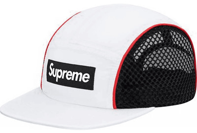 $ CDN97.04 • Buy SUPREME New York Race Camp Cap Hat WHITE BLACK Adjustable NEW SS BOGO FOOTBALL
