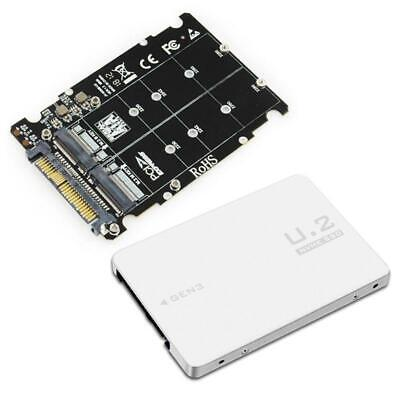 AU19.86 • Buy M.2 SSD To U.2 Adapter 2in1 M.2 NVMe And SATA-Bus NGFF SSD To PCI-e U.2 SFF-8639
