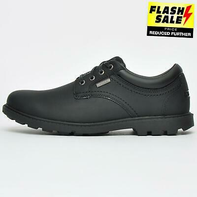 Rockport Storm Surge Men's Classic Waterproof Oxford Leather Shoes Black • 67.99£