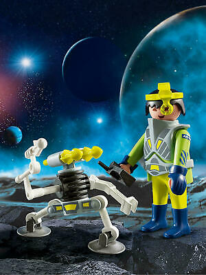 Playmobil Easter Egg 9416 Space Agent With Robot Spaceman Kid's Gift Toy RARE • 12.49£