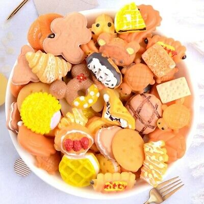 Mix Fake Food Sweets Cakes Cookies Muffins Cabochon CB1 Select Amount • 2.99£
