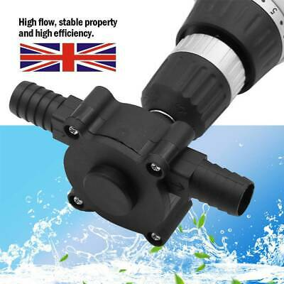 HOT Electric Powered Drill Pump Self Priming Oil Fluid Water Transfer Pumps • 6.79£