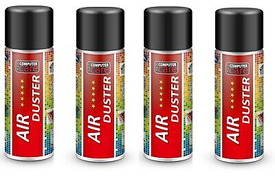 4 X Compressed Gas / Air Duster Spray Can 200 Ml.  • 9.90£