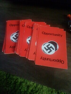Vintage Parker Games Escape From Colditz Game Spare Opportunity Cards X 32 • 5.99£