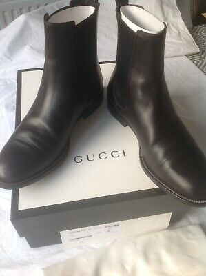 Mens Gucci Brown Chelsea Boots • 150£