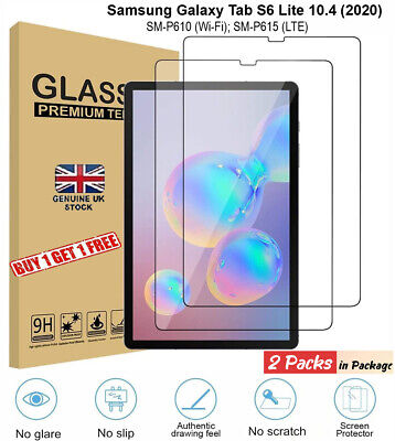 $ CDN7.92 • Buy 2x 9H Tempered Glass Screen Protector For Samsung Galaxy TAB S6 Lite P610/P615