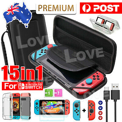 AU19.95 • Buy For Nintendo Switch Case Bag Travel Carrying Screen Protector Cover Accessories
