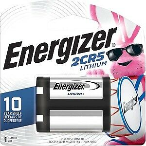 $ CDN21.93 • Buy IM Energizer 2CR5 Batteries, 1 Pack - For Camera - 6 V DC - 1300 MAh - Lithium