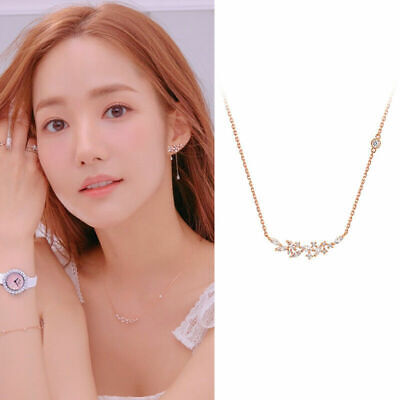 $ CDN364.35 • Buy STONE HENGE 14K Rose Gold Necklace T0766 Womens Jewelry Anniversary Gift US SELL