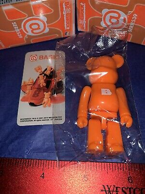 $6.79 • Buy NeW MediCom BEARBRICKS Be@rbricks Mini Series 39 * BASIC B Orange Bear * RaRe