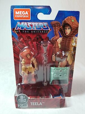 $15 • Buy Mega Construx Masters Of The Universe Wave 4 Heroes Teela Action Figure