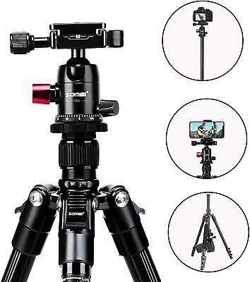 AU69.99 • Buy ZOMEI M6 Portable Travel Tripod Monopod Camera Stand Ball Head For DSLR Camera