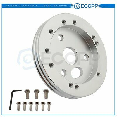 $12.99 • Buy 0.5  Hub Spacer 5 Or 6 Hole Steering Wheel For Grant NRG To 3 Hole Adapter