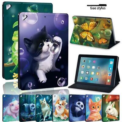 £7.99 • Buy Printing Animal PU Leather Stand Tablet Flip Cover Case For Apple IPad Air 1/2/3