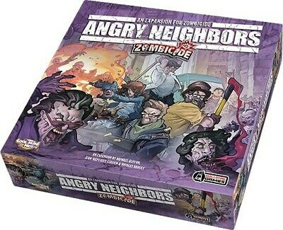 AU61 • Buy Zombicide Angry Neighbors Board Game Family Board Game Brand New