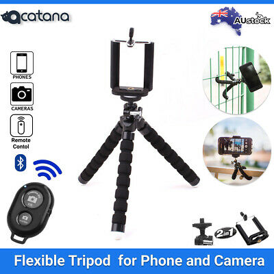 AU15.50 • Buy Tripod Stand Flexible Octopus Universal Phone Mount IPhone Samsung Camera Holder