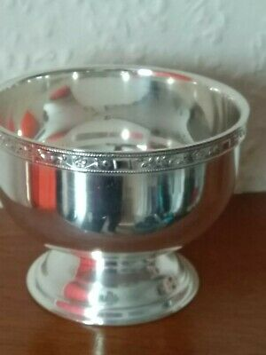 Vintage Viners Of Sheffield Silver Plated EPNS A1 Sugar Bowl • 7.99£