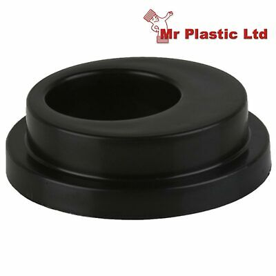 Brett Martin 110mm Underground Drainage To 68mm Round Down Pipe Adaptor In Black • 9.25£