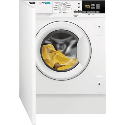 Zanussi Z716WT83BI Integrated 7/4Kg Washer Dryer 1550 Rpm White A Rated RRP £638 • 349£