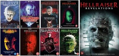 HELLRAISER Seasons 1-9 Complete Series 1 2 3 4 5 6 7 8 9 NEW UK REGION 2 DVD PAL • 199.99£