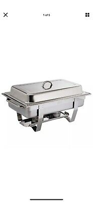 Olympia Milan Chafing Set, Mirror Polished Stainless Steel Dish Chafer Buffet • 17£