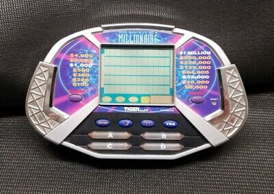 £4.93 • Buy Who Wants To Be A Millionaire Handheld Electronic Game Tiger Video Game
