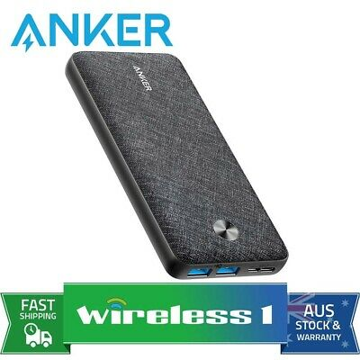 AU99 • Buy Anker PowerCore Essential 20000 Power Bank - Black Fabric