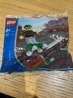 Lego Sports 5015 SKATEBOARDER Promo Exclusive 2003 Factory Sealed Polybag • 8.99£