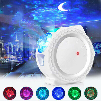AU41.99 • Buy LED Galaxy Starry Night Light Projector Ocean Star Sky Party Baby Room Lamp Gift