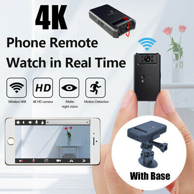 View Details Mini WIFI Hidden Spy Camera Wireless 4K HD Night Vision 120° View Home Security • 29.99£