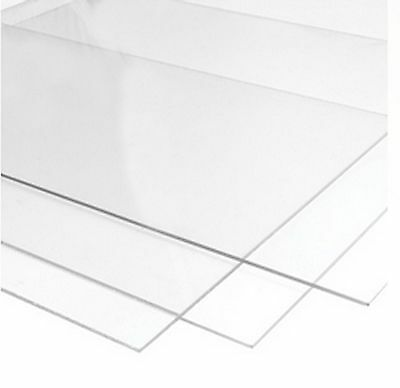 £6.24 • Buy Perspex Glass Styrene And M.D.F For Picture Photo Frames 1.2mm Clear Transparent