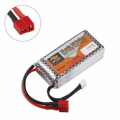 3S LiPo Battery 1500mAh 11.1V 40C T Plug For RC Car Airplane Helicopter Toy UK • 11.98£