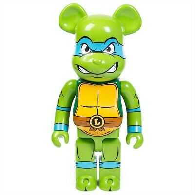 $600 • Buy Medicom BE@RBRICK TMNT Leonardo 1000% Bearbrick Figure